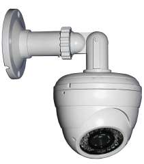 Sony 700TVL IR CCTV Dome Waterproof Security Surveillance Video Monitor Camera Install With Vari Focal Lens