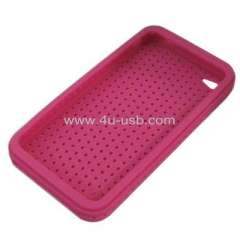Silicone case for iPhone 4 mobile phone silicone case