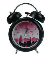 Trumpet lazy alarm clock / alarm clock double bell mute - urban style