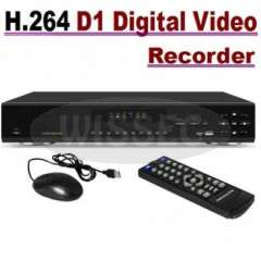 Security CCTV 8CH H.264 Full D1 Realtime Recording 3G WIFI Network Video DVR