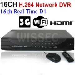 16CH H.264 HDMI Port Surveillance FUll D1 Realtime 3G WIFI Network Standalone DVR Support Mobile Phone View