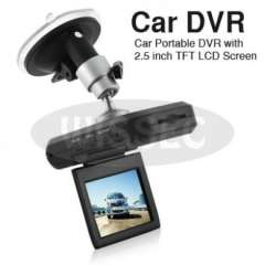 Car Vehicle Dashboard Camera DVR Black Box With 2.5 LCD Monitor