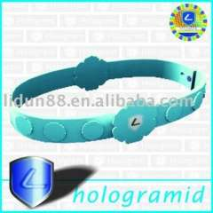 2012 hot sale silicone ion sport band