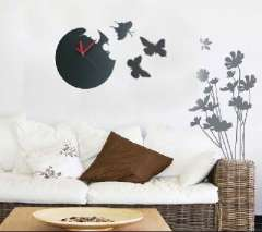 Butterfly Fantasy Art wall clock | wall clock round Butterfly | Color Random