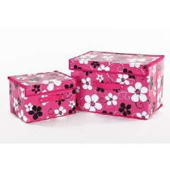 Language of Flowers Colorful Storage Box | Household items storage box | Goodies piece | Rose