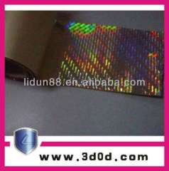 high quality security anti-fake card hologram