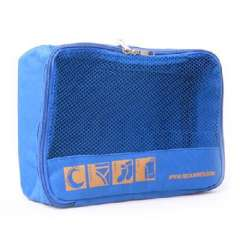 Portable travel clothing pouch | Blue