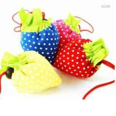 Strawberry Style Polyester Foldable Shopping Bag