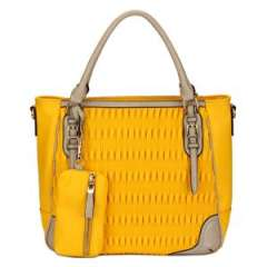 2014 Spring Yellow Stylish Lady Fashion Bags (MBLX031072)
