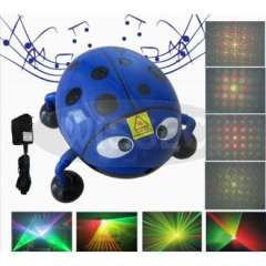 Mini Laser Stage Lighting with Music Playing and support USB disk