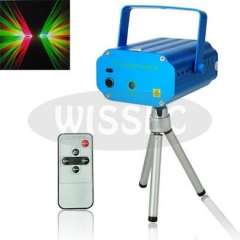 Wholesale 20 in 1 Multifunctional Mini Portable Red & Green Meteor Laser Stage Lighting