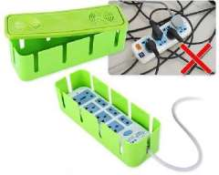 Cable wire with cooling holes storage box / socket storage box | Green
