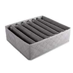 New material charcoal 7 cells bra storage box