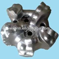 API steel body PDC drill bit for oil well petroleum machine