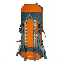 Outdoors | Mountaineering bag | Backpack | Professional aluminum bracket suspension system | Authentic Backpack 80L