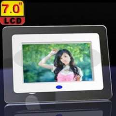 7inch TFT Digital Photo Frame with MP3 MP4 Player