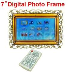 7inch Multifunction Titanium Alloy Digital Photo Frame