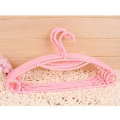 An upgraded version of the rainbow slip hanger / wet and dry hanger / hangers - Pink