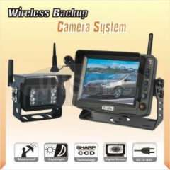 2.4G Wireless Vehicle Reversing Back up Camera System with 5 inch Monitor