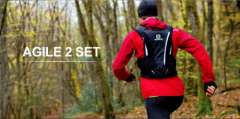 Salomon AGILE outdoor trail running backpack