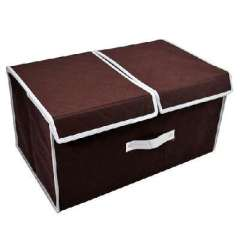 Storage card show - double cover bamboo storage box / storage box in addition to taste