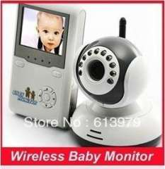 Wireless Baby Monitor, 2.4 inch LCD Two-Way Audio Night Vision Baby Monitor wholesale\retail