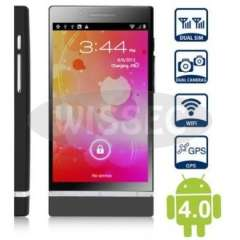 NEW 3G Phone X26i MTK6575 Android 4.0.3 512MB+4GB 4.0'WVGA HD Capacitance Screen GPS Smartphone black color drop shipping