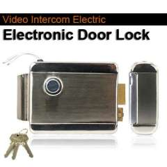 Home Stainless Steel Electronic Door Lock For Video Doorphone Intercom free shipping