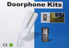 Home Security 2-Wire Connection Doorphone Kits With Unlocking Function Talking Distance is Above 100m free shipping