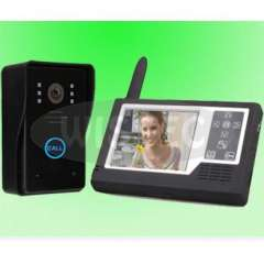 Home CCTV Wireless 3.5 inch TFT Monitor Video Doorphone with Photographing Function