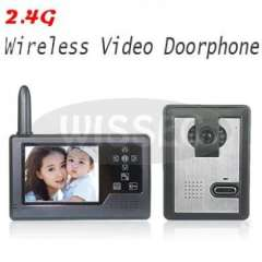 Home Security 3.5 inch TFT Colour Display Wireless Video Doorphone Intercom