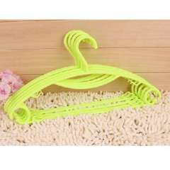 An upgraded version of the rainbow slip hanger / wet and dry hanger / hangers - Light Green