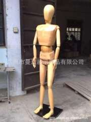 Large supply of wooden models, female models, male special large wooden (may pose) Guangzhou wood