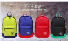 Kappa2015 new neutral Couples casual college backpack
