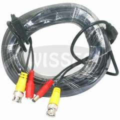 20M Power Video Plug and Play Cable with BNC interface for CCTV Camera