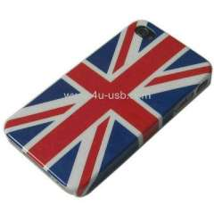 United Kingdom Flag Style Plastic Case for iPhone 4 \ 4S \ iPhone 4(CDMA)