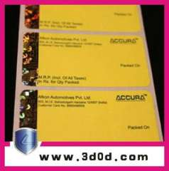 rolled Comprehensive anti-counterfeiting security label