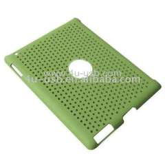 Ultra-thin Mesh Plastic Case Smart Cover Partner for iPad 2