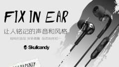 skullcandy FIX IN-EAR-ear sports headphones with microphone wire