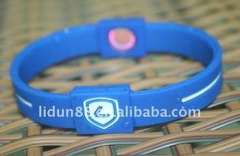 2013 Clothes-match Available Silicone Energy Bangle in Hologram