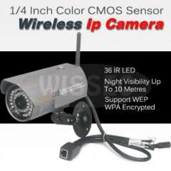 CCTV 36IR LEDs Day&Night Waterproof Wireless Wifi IP Network Camera
