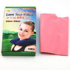 Gold Crown Leisure travel pillow - Pink