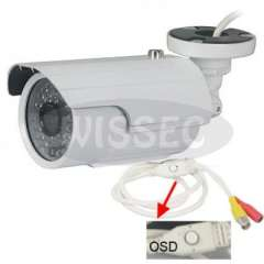 600TVL Outdoor Security CCTV Camera 35IR LEDs Privacy Masking WDR OSD Menu