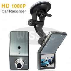 2.4 inch LCD Screen 1080P Road Safety Guard-Car Mobile DVR With Mega Pixels Built-in Camera