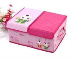 Chess Babe chess margin of Chu | double-covered storage box | Pink
