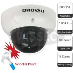 BAVONO High Resolution Wide Dynamic Range Dome Camera