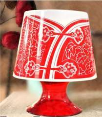 Chinese style lamp paper towels--in mourning clothes | Red