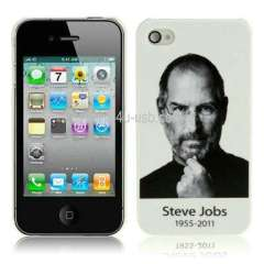 Steven Jobs Commemorative Edition Plastic Case for iPhone 4S, iPhone 4