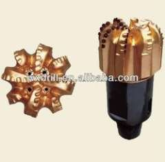High quality steel body PDC drill bits with 8 blades