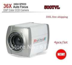 CCTV security 700TVL 1\4 inch SONY CCD 36X Optical Zoom DSP Color Video Camera Auto Focus, 4pcs\lot
